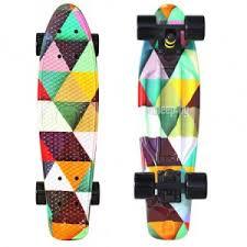 <b>Скейт</b> Y-Scoo <b>Fishskateboard</b> Print 22 Triddent <b>401G</b>-<b>T</b>