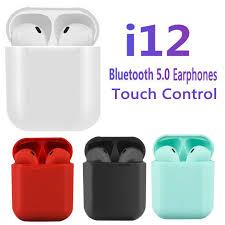 <b>I12 TWS</b> Беспроводной наушник Bluetooth 5.0 Мини <b>гарнитура</b> в ...