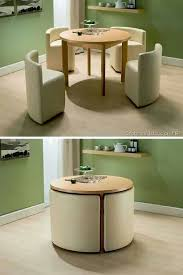 space saver dining set cushion space saving table and chair united dining sets