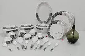 Century <b>premium</b> table ware Melamine Set of 40 Pcs Serving <b>Dinner</b> ...