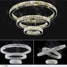 modern led k9 crystal pendant lights ring clear amber circle chandelier lustres de cristal suspension led light fixture ac110v 220v supplier amber pendant amber pendant lighting