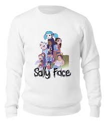 Свитшот унисекс хлопковый <b>Sally Face</b> (<b>Салли</b> фейс) #2649516 ...