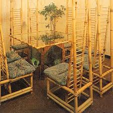 bamboo tables and chairs bamboo wood furniture