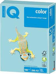Бумага <b>IQ color</b> A3, 160 г/м, 250 листов, пастель голубая MB30 ш/к ...