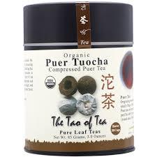 The Tao of Tea <b>Organic Compressed Puer Tea</b> Puer Tuocha 3 0 oz ...