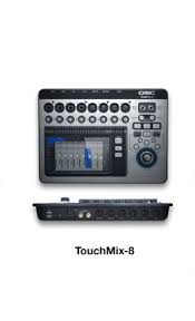 TouchMix Mixers - Продукция - Live Sound - QSC Russian ...
