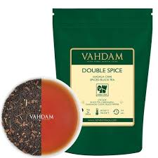 <b>Double Spice</b> Masala Chai | Loose Leaf <b>Tea</b> - 3.53 Oz - Vahdam <b>Teas</b>