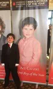ace calvert along parents kris calvert and dr jay calvert ace calvert leukemia survivor and d boy of the year for the leukemia lymphoma