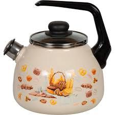 <b>Чайник</b> СтальЭмаль Хлеб <b>3 л</b> в Москве – купить по низкой цене в ...
