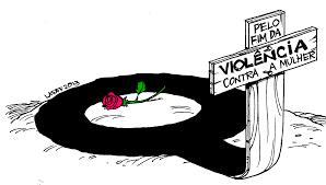 Resultado de imagem para não a violencia contra a mulher