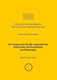 Thesis Guidelines and Topics   Fakult  t f  r Informatik der