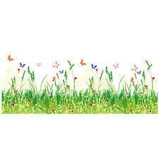 Wall Stickers <b>Grass Skirting</b> for sale | eBay