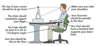Improve Posture at the Computer