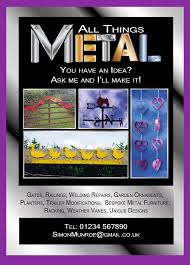 leaflet flyer example metal man be your own graphic designer leaflet flyer example 5 metal man