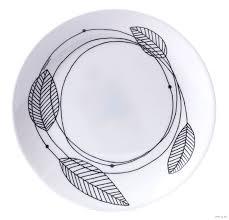 "Тарелка стеклокерамическая ""<b>Diwali Sketch</b>"" (190 мм) <b>Luminarc</b> ..."