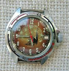 Vintage Soviet <b>Watch Vostok</b> 2414 Amphibian,70 years of the ...