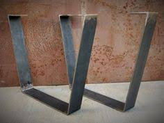 metal dining table base legs bennysbrackets: metal table legs flat bar by steelimpression on etsy