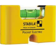 <b>Уровень</b> строительный <b>STABILA</b> тип <b>Pocket Electric</b> с чехлом на ...