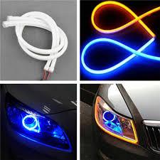 1Pc <b>Wind</b> Energy <b>Running Lights</b> 8 LED Daylight Headlight Lamp ...