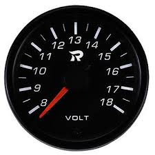 Miniature Volt <b>Performance</b> Gauge in 45mm, automobiles ...