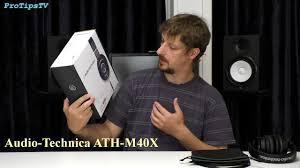 <b>Audio Technica M40X</b> Обзор и Тест - YouTube