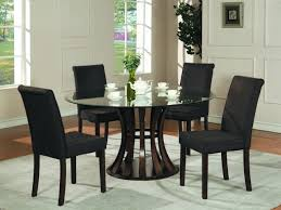 dining table glass room set home