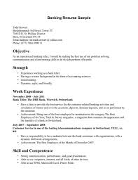 bank job resume sample bank job resume sample images banking bank job resume resume examples for banking jobs