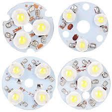 <b>3PCS</b> LED Chip High Power Lamp Beads Light 3W <b>4W 5W</b> Cool ...