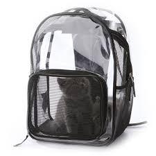 <b>New Pet Dog Backpack</b> Transparent Breathable <b>Puppy Cat</b> Bag Top ...