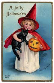Image result for vintage halloween pictures