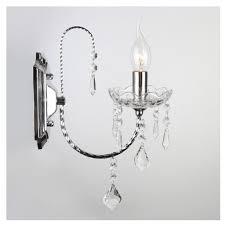 Настенный светильник <b>Eurosvet 3908/1 хром</b>/<b>прозрачный</b> ...