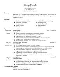 best applicator resume example livecareer create my resume