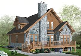 Chalet home design   bedrooms and panoramic views    Chalet home design   bedrooms and panoramic views   Professional Builder House Plans