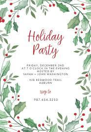 <b>Christmas Party</b> Invitation Templates (Free) | Greetings Island