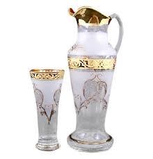 <b>Набор</b> для воды 7 предметов (кувшин 1,5 л + <b>6 стаканов</b> ...