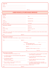 used car purchase invoice template invoice template  category 2017 tags used car purchase invoice template
