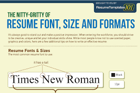 best fonts and proper font size for resumes   brandongaille com