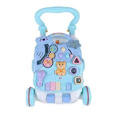 Buy Blue White <b>Multifunction Musical Baby Walker</b> Toy Online at ...