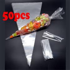 <b>50PCS</b> Candy Cellophane Popcorn Wedding Candy <b>50PCS</b> ...