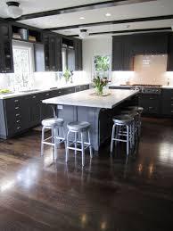 Kitchens Floors Dark Floor Dark Cabinets Concrete Countertop Google Search