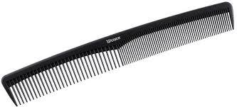 <b>Расчёска для волос</b>, гребень <b>карбоновый</b>, комбинированный, 18 ...