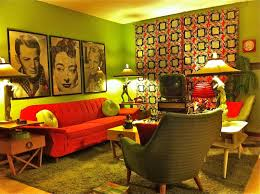 Retro Bedroom Decor Kitsch House Mid Century Modern Interiors Eclectic Interior