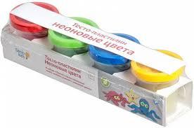 <b>Набор для творчества Genio</b> kids Тесто-пластилин: Неоновые ...