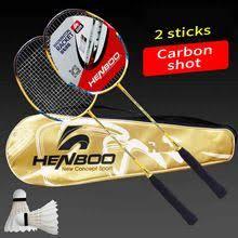 <b>HENBOO</b> Lightweight <b>Badminton</b> Set 300g Full Carbon Fiber ...
