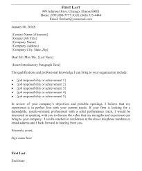 5 best examples of writing a good cover letter templates best professional cover letter sample