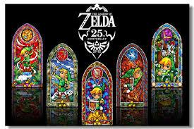 legend zelda game silk decor poster