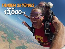 Image result for Thrilling Tandem Skydiving