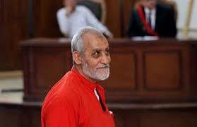 القاهرة - محكمة النقض المصرية تؤيد حكم المؤبد بحق مرشد الاخوان محمد بديع