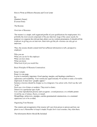 how to write an effective resume and cover letter rmyntit in how to write an effective resume and cover letter rmy6ntit in how to write an effective cover letter