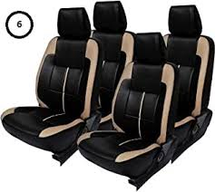 Faux Leather - Seat Covers / Seat Covers & Cushions ... - Amazon.in